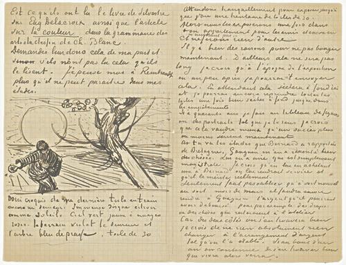 ... Of Yellow Paper - Vincent Van Gogh - www.vincent-van-gogh-gallery.org
